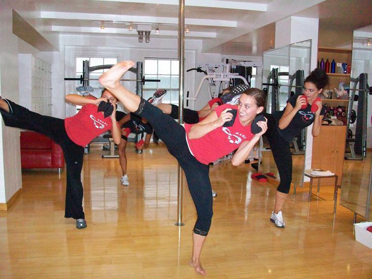 fresno cardio kick boxing classes