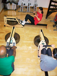 Indoor Rowing Exercise Class