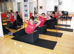 wedge group exercise class