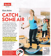 shape magazine smart workout airopes
